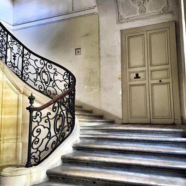 חדר המדרגות בביתה של המרקיזה דה ברינבילייה שבמארה