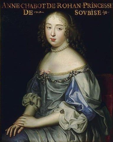 אן דה רואהן שאבו - המאהבת של לואי ה-14