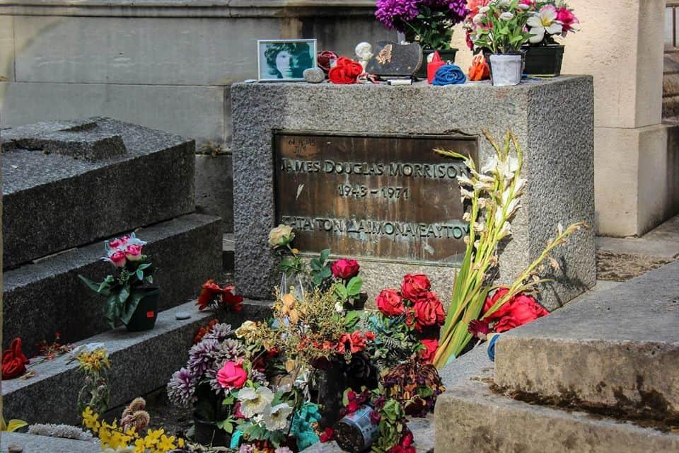 קברו של ג'ים מוריסון. צילם: יואל תמנליס.