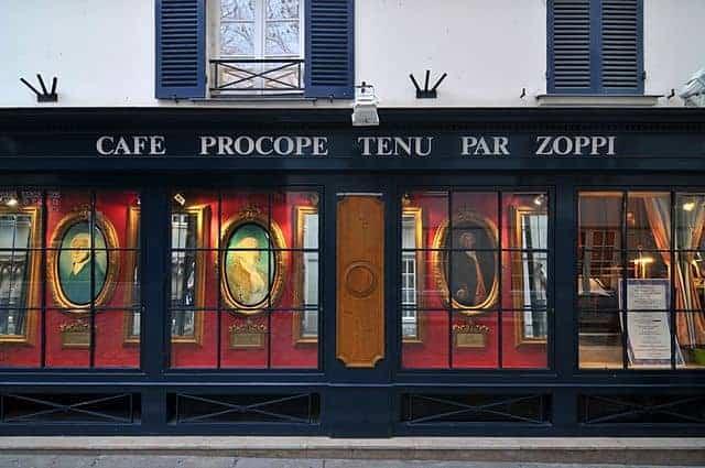 לה פרוקופ – בית הקפה הכי עתיק של פריז