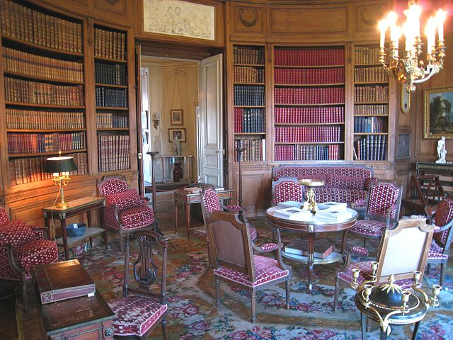 הספרייה המפוארת של משפחת קמונדו
