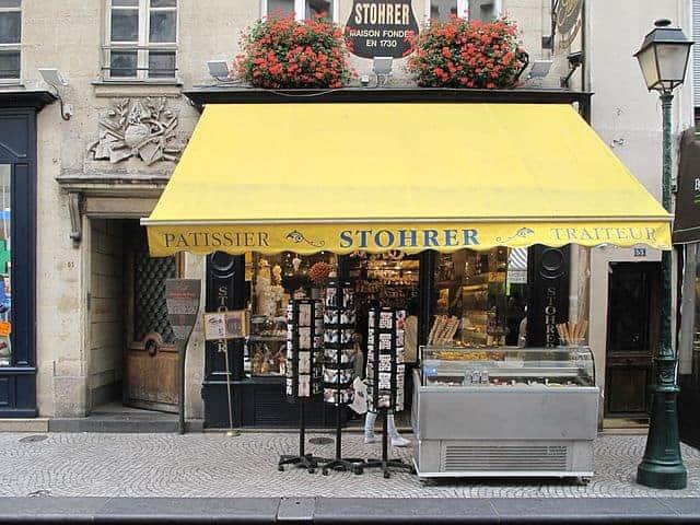 פטיסרי מומלץ בפריז – שטורר (Stohrer)