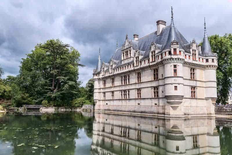 ארמון אזאי לה רידו (Azay-le-Rideau). מקור צילום: ויקיפדיה.