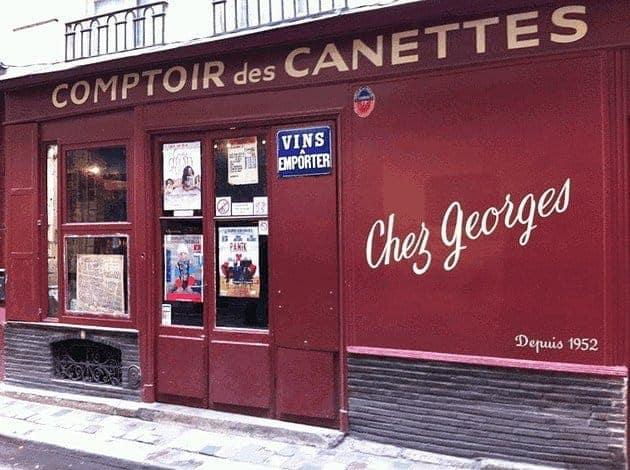 בר יין מומלץ בפריז – שה ז'ורז' (Chez Georges)