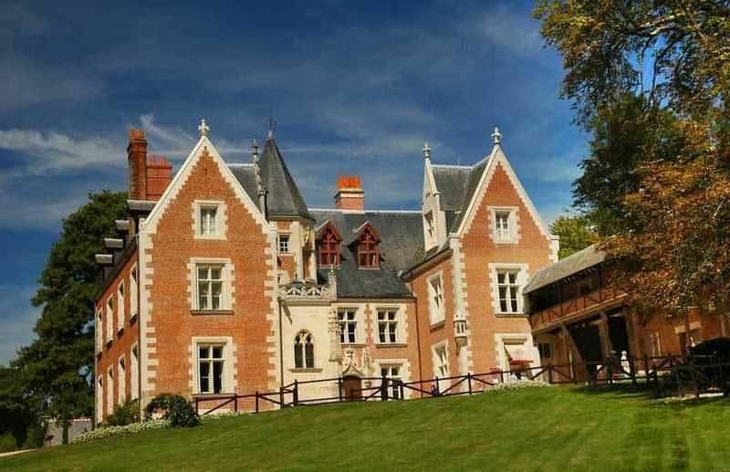 ארמון קלו-לוסה (Clos Lucé). מקור צילום: ויקיפדיה