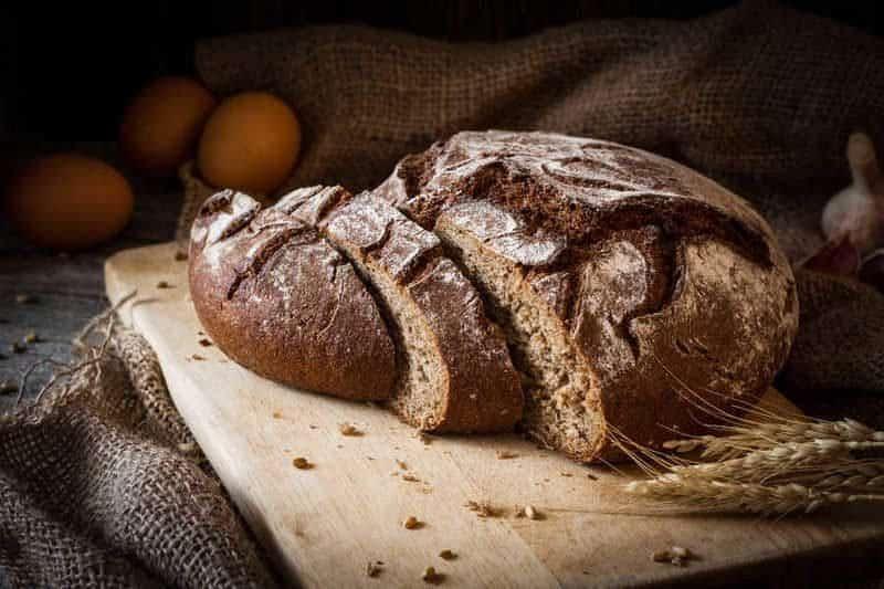 ככה נראה לחם צרפתי אמיתי.