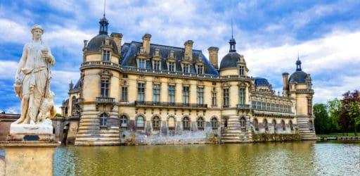 שאטו דה שנטילי (Chantilly) - טירת הקצפת מאת רונן סאס