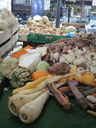 ירקות בשוק גרנל