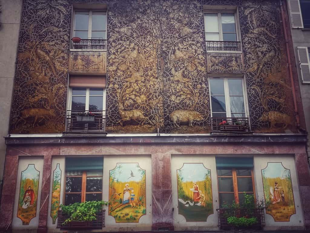 אחד הבתים היפים ביותר ברחוב מופטאר. צילם: צבי חזנוב
