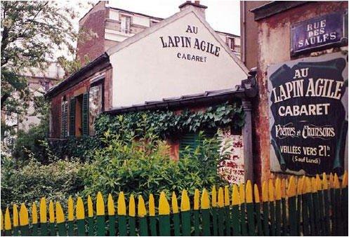 מועדון ה Au Lapin Agile - מומלץ בחום