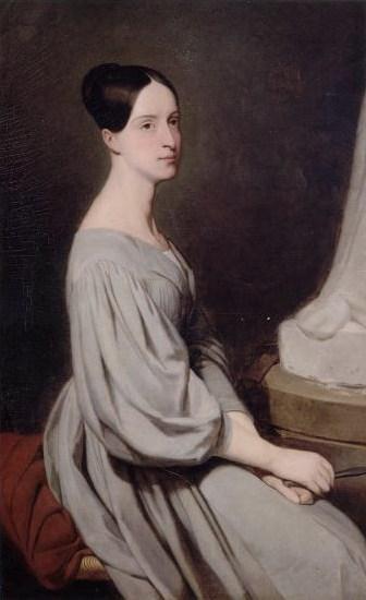 הנסיכה מארי מאורליאן. דיוקן מאת ארי שפר, אשר מוצג כיום בטירת שאנטיי