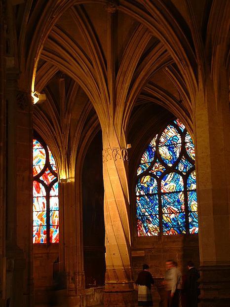 כנסיית סן סברן - מבט מבפנים