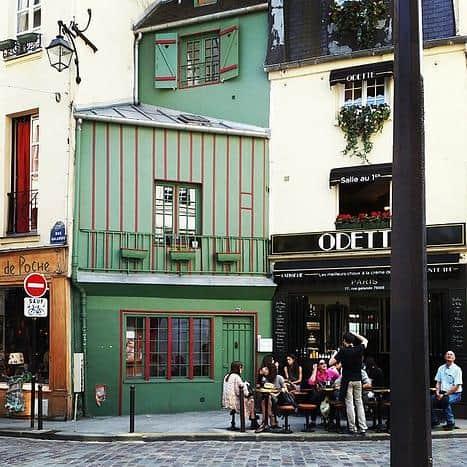 הבית השני הכי קטן בפריז