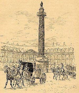 העמוד שנפוליאון הקים בכיכר וונדום