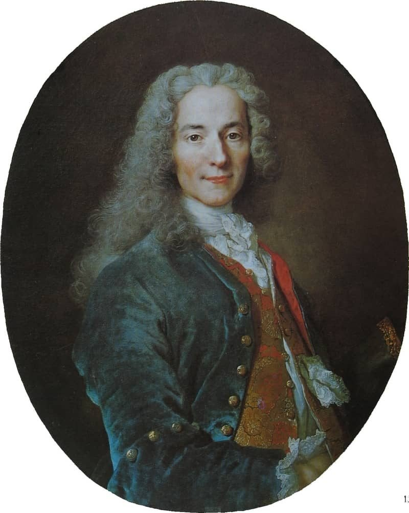פרנסואה מארי ארואה המכונה וולטר. מקור תמונה: ויקיפדיה.