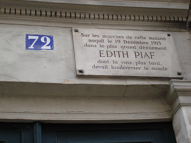 הבית שבו, לפי האגדה, נולדה אדית פיאף
