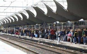 שביתת התחבורה בפריז דצמבר 2019