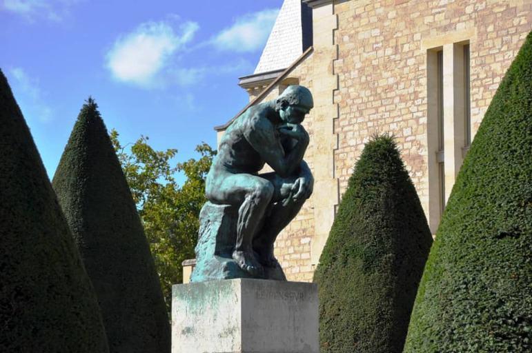 הגן של מוזיאון רודן בפריז - צילום: יואל תמנליס