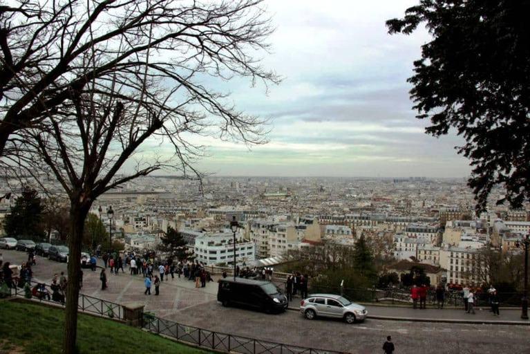 הנוף ממדרגות הסקרה קר - צילום: יואל תמנליס