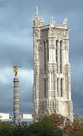 מגדל סן ז'אק מאת עמירם צברי