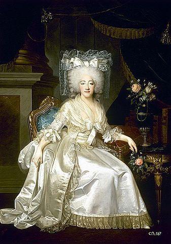 מארי ז'וזפין מסאבוי - אשתו של לואי ה-18