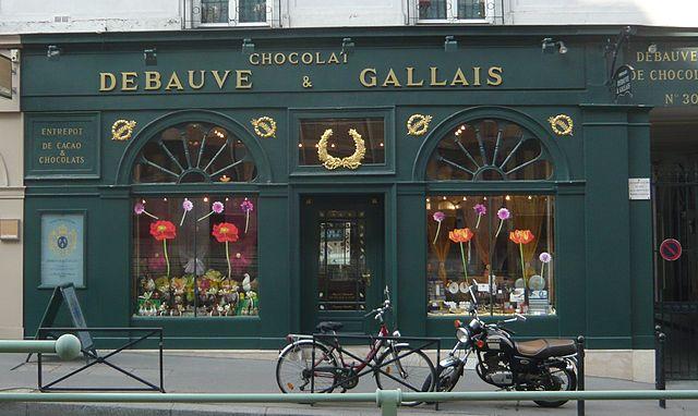 החנות של Debauve & Galais בפריז