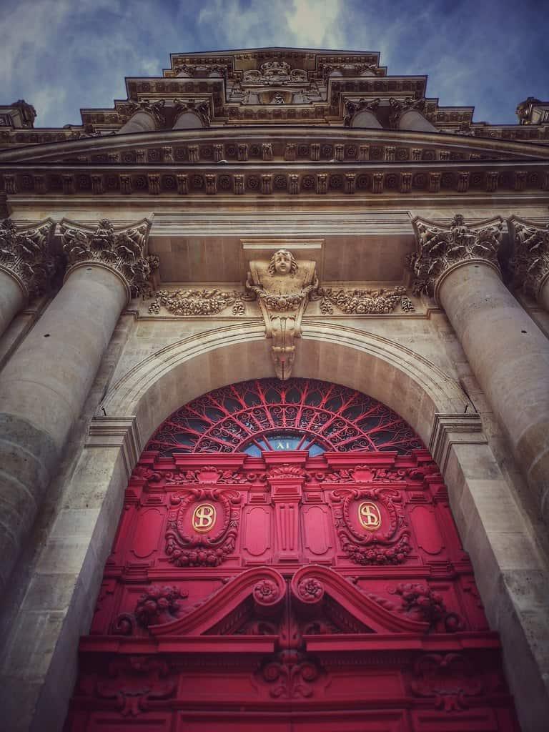 כנסיית סן לואי סן פול. צילם: צבי חזנוב