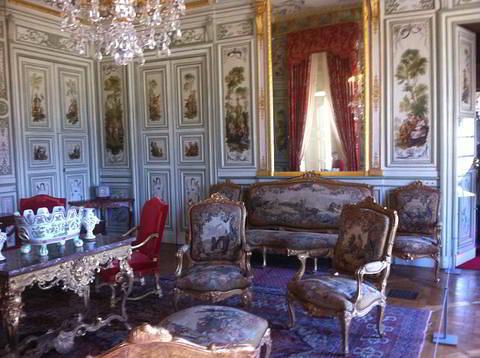 סלון מהמאה ה - 18