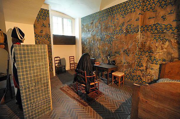 התא של מארי אנטואנט בכלא הקונסיירז'רי