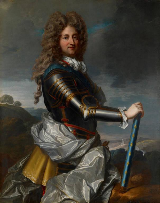 פיליפ ה-2 דוכס אורליאן. ציור של ז'אן בטיסט סנטר (Jean Baptiste Santerre)