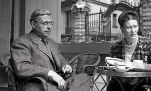 ז'אן פול סארטר וסימון דה בובואר