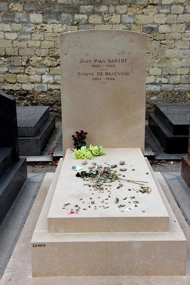 הקבר של סארטר ובובואר