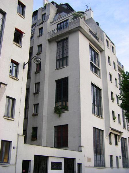 הבית בו התגוררה סימון דה בובואר ב 33 השנים האחרונות לחייה.
