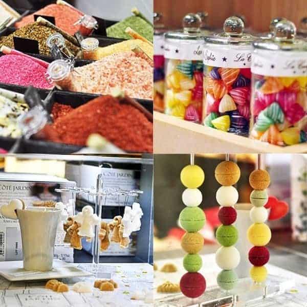 סוכריות ועוד דברים טעימים בגלארי לאפייט