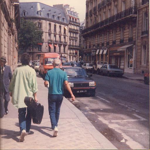 פריז 1986 - הצילום ניתן באדיבותה של עידית נחומי