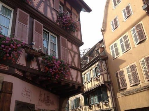 העיירה קולמר שבחבל אלזס שבצרפת