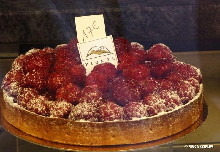 עוגת פטל