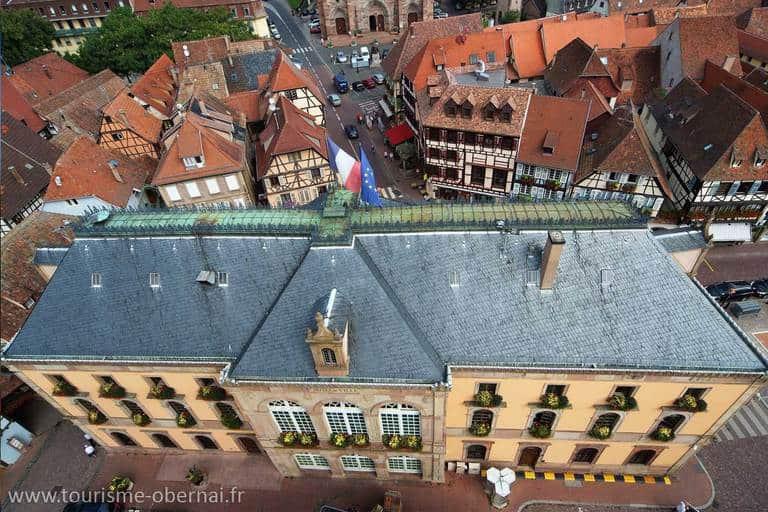כיכר העירייה. הצילום באדיבות לשכת התיירות של אוברניי