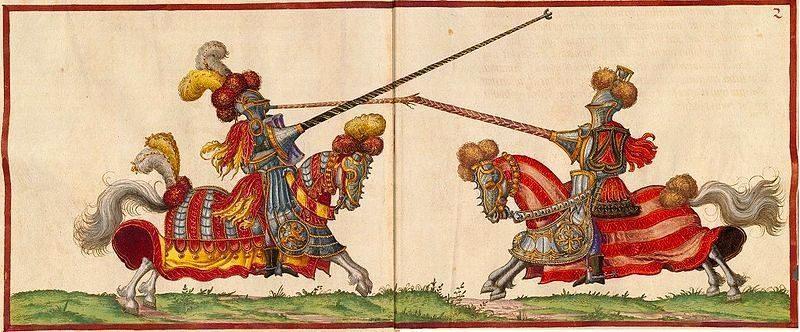 מותו של המלך הנרי ה-2 בתחרות אבירים