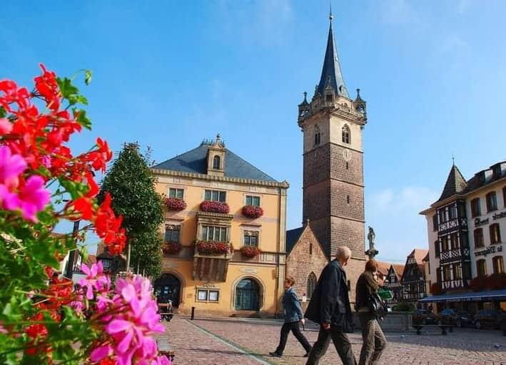 אוברניי Obernai – העיירה האלזסית הראשונה בה ביקרתי