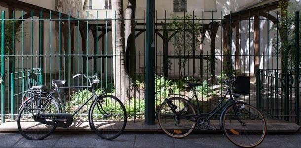 עוד תמונה של הגן ברחוב ויסקונטי