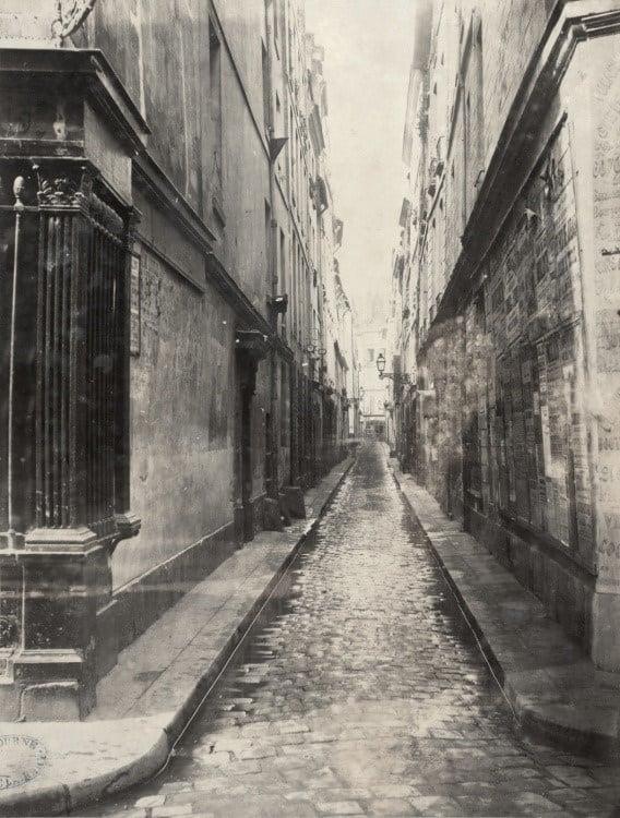 רחוב מארה סן ז'רמן בשנת 1850