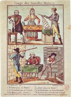 המידות החדשות שהנהיגה המהפכה הצרפתית