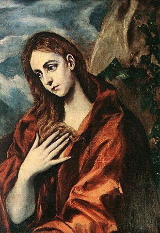 מאריה מגדלנה - אל גרקו