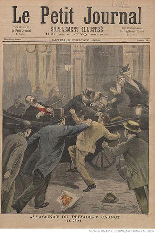 הרצח של הנשיא סאדי קארנו