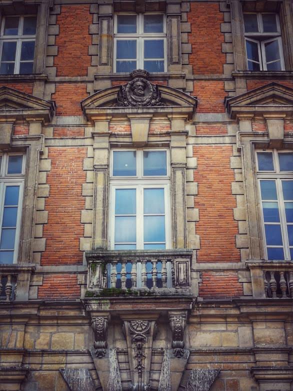 פלאס דה ווז'. כאן נולדה מדאם דה סבינייה.