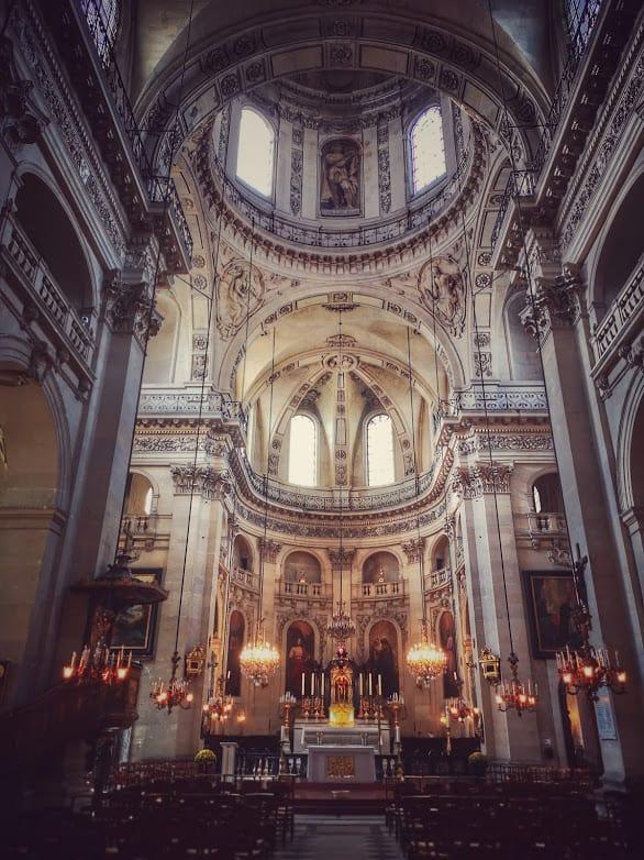 כנסיית סן פול סן לואי. צילם: צבי חזנוב