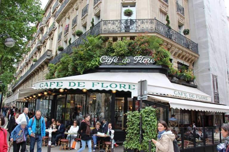 וככה נראה סן ז'רמן היום. בתמונה קפה דה מאגו שבבולבאר סן ז'רמן. צילם יואל תמנליס