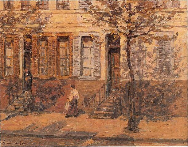 סצנת רחוב, אנרי דואם ,1912