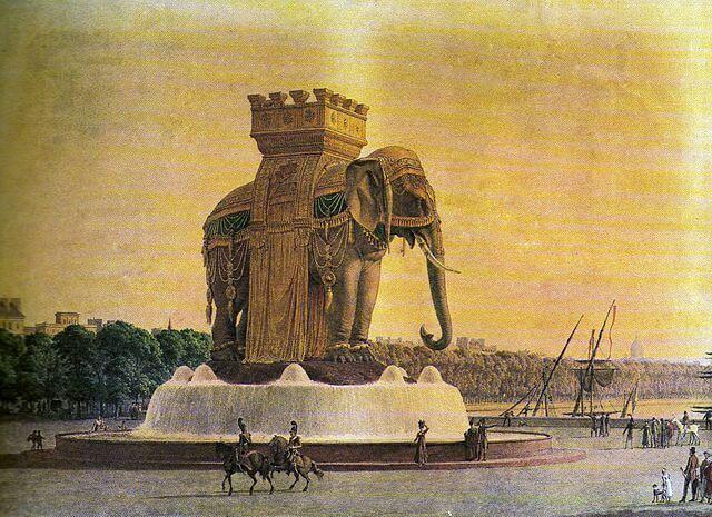 הפיל של כיכר הבסטיליה